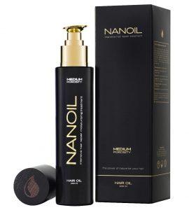 Olja för hår Nanoil